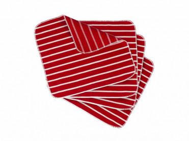 Set 4 Servete Bucatarie, Red, 35x35cm (Bumbac 100%)