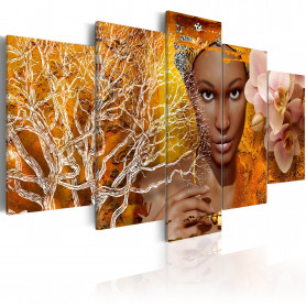 Tablou - Tales from Africa 100x50 cm