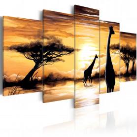 Tablou - Wild Africa 100x50 cm