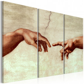 Tablou - Touch of God 90x60 cm