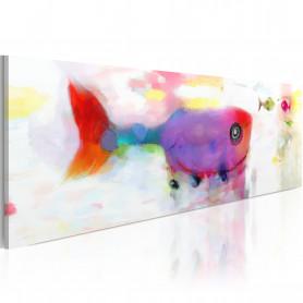 Tablou - Deep-sea fishes 120x40 cm