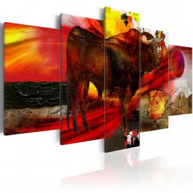 Tablou - Spanish Temper 200x100 cm