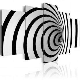 Tablou - A black & white hole 200x100 cm