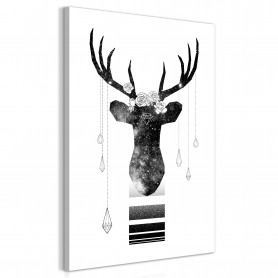 Tablou - Abstract Antlers (1 Part) Vertical 40x60 cm