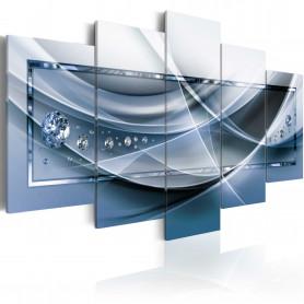 Tablou - Blue Rays 100x50 cm