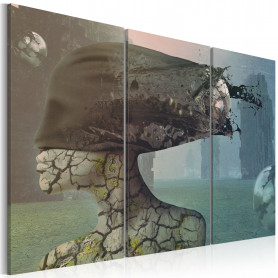 Tablou - Brainstorm - triptych 120x80 cm