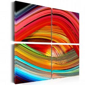 Tablou - Colorful depths 80x80 cm