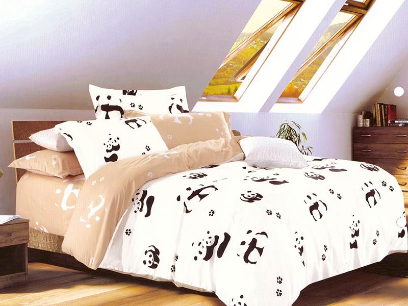Lenjerie Panda (Bumbac Satinat)