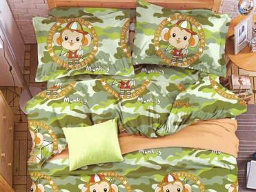 Lenjerie Monkey (Bumbac Satinat)