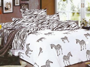 Lenjerie Zebra (Bumbac Satinat)