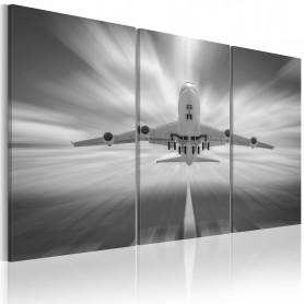 Tablou - Towards the clouds - triptych 120x80 cm