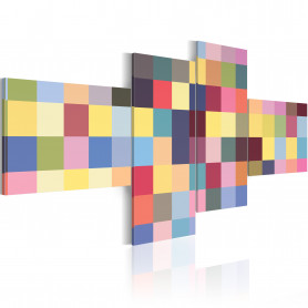 Tablou - Aesthetics of colors 100x45 cm
