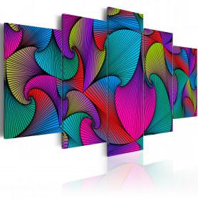 Tablou - Carousel of Colours 100x50 cm
