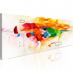 Tablou - Colors celebration 120x40 cm