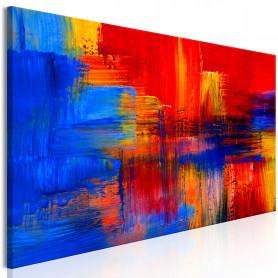 Tablou - Colour of Passion 135x45 cm