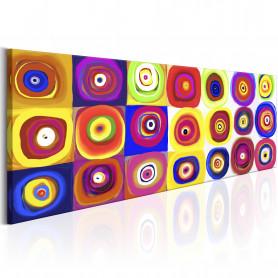 Tablou - Colourful Carousel 135x45 cm