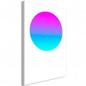 Tablou - Colourful Circle (1 Part) Vertical 80x120 cm