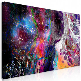 Tablou - Colourful Galaxy (1 Part) Wide 60x30 cm
