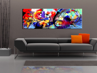 Tablou - Colourful Immersion 150x50 cm