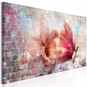 Tablou - Colourful Magnolias (1 Part) Narrow 135x45 cm