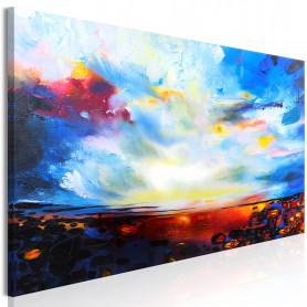 Tablou - Colourful Sky (1 Part) Narrow 120x40 cm