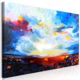 Tablou - Colourful Sky (1 Part) Wide 70x35 cm