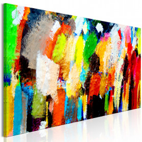 Tablou - Colourful Variations 135x45 cm