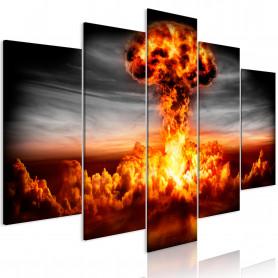Tablou - Explosion (5 Parts) Wide 100x50 cm