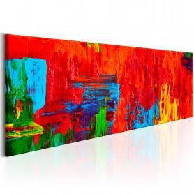 Tablou - Fiery Fantasy 150x50 cm