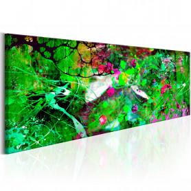Tablou - Green Fantasy 120x40 cm