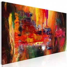 Tablou - Hell (1 Part) Narrow 150x50 cm