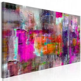 Tablou - Land of Colors 120x40 cm