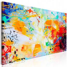 Tablou - Memory of Childhood (1 Part) Narrow 120x40 cm