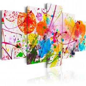 Tablou - Summer of Colours 200x100 cm