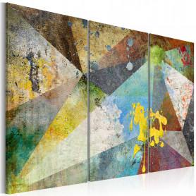 Tablou - Through the Prism of Colors 90x60 cm