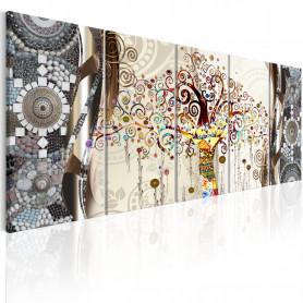 Tablou - Tree and Mosaic 225x90 cm