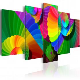 Tablou - Twisted Colours 100x50 cm