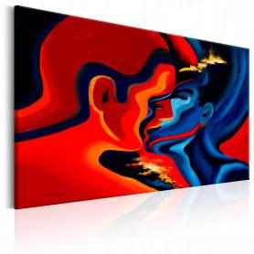 Tablou - Cosmic Kiss 120x80 cm