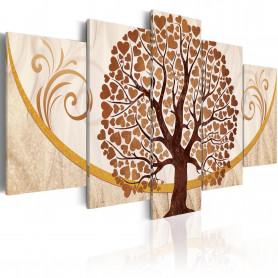 Tablou - The Golden Tree of Love 200x100 cm