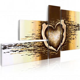 Tablou pictat manual - Love flight 120x60 cm