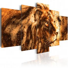 Tablou - Beautiful Lion 200x100 cm