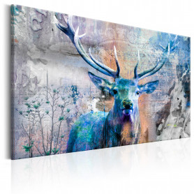 Tablou - Blue Deer 90x60 cm