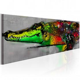 Tablou - Colourful Beast 150x50 cm