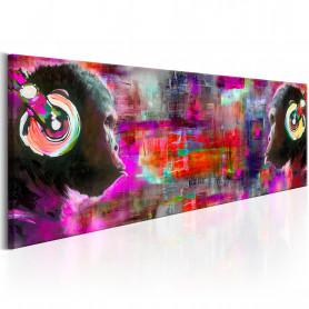 Tablou - Colours of Music 150x50 cm
