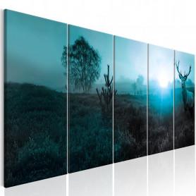 Tablou - Emerald Deer I 225x90 cm