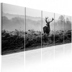 Tablou - Grey Reality 200x80 cm