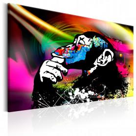 Tablou - Monkey Disco 60x40 cm