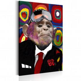 Tablou - Mr. Monkey 80x120 cm