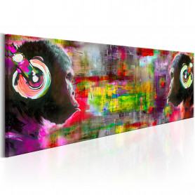 Tablou - Musical Duet 150x50 cm