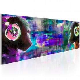 Tablou - Musical Rivalry 120x40 cm